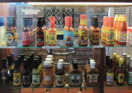 We have a selections of Hot Sauces that you can buy