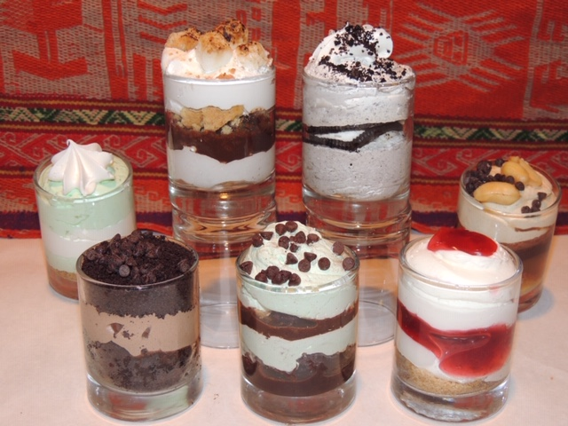 Try our delicious Mini Desserts!