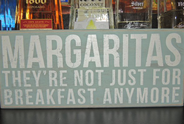 Margaritas, they're not just for breakfast anymore!